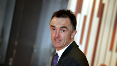 Chairman of the board: New Eels boss Sean McElduff.