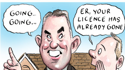 The gavel falls on John McGrath's real estate licence