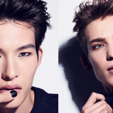A first for beauty giant Chanel is the The Boy de Chanel range for men, which includes nail polish and eye pencil.