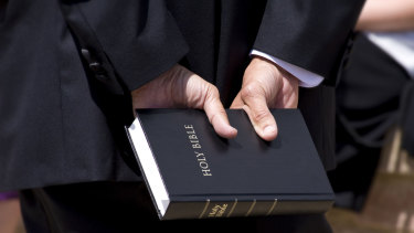 The Holy Bible is an essential companion  to the members of the sect.
