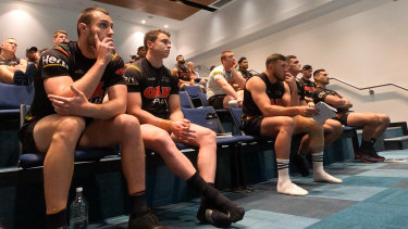 Penrith Panthers players have been driven all year by the club's emotional vulnerability sessions.