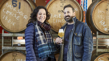 La Sirène co-founders Eva and Costa Nikias. Ms Nikias said she was pleased the company's request for Urban Ale's trademark to be cancelled was upheld in the Federal Court.