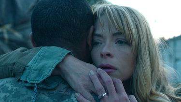 Jamie King stars in Netflix's apocalyptic drama Black Summer.