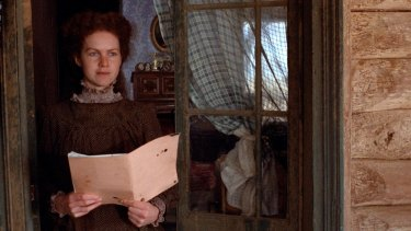 Judy Davis as the magnetic Sybylla Melvyn in My Brilliant Career.