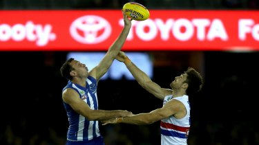 The Western Bulldogs and North Melbourne competed in the AFL's first Good Friday clash in 2017.