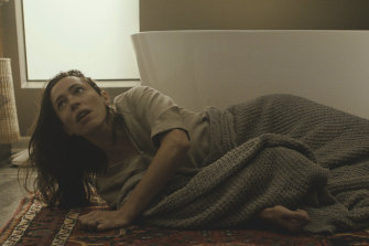 Rebecca Hall in a scene from The Night House.
