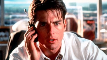 """Film still from """"Jerry Maguire"""" in 1996."""