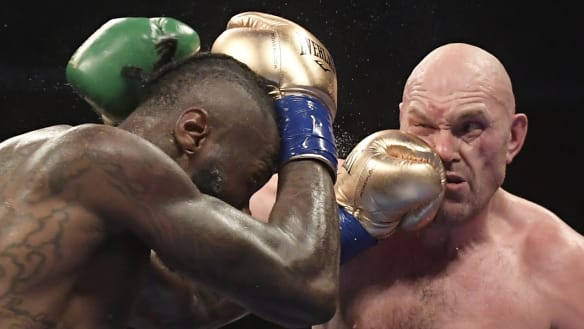 Fury demands rematch after 'gift' split-draw decision