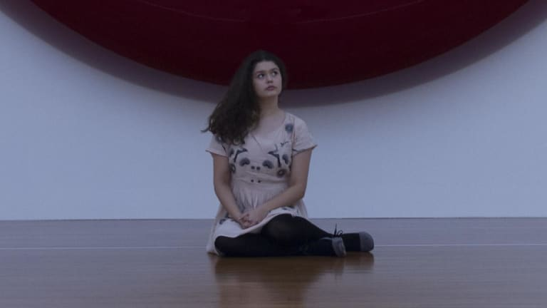 Maya Linsky in her film Not In Nature, which won her a $25,000 car at the Focus On Ability Short Film Festival.