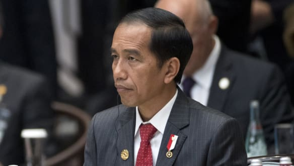 Indonesian President Joko Widodo may be targeted for not making enough progress in tackling endemic corruption in Indonesia.