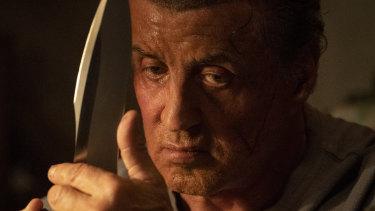 Sylvester Stallone's sheer stubborn conviction still fascinates in Rambo: Last Blood.