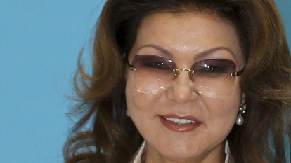Kazakhstan heiress abruptly ousted from regime