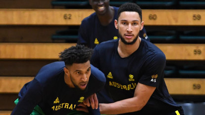 Boomers focused on World Cup, but dare to dream of Simmons-led Olympics