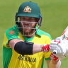 Finding his feet: 'Look out' if Warner gets going, says Taylor
