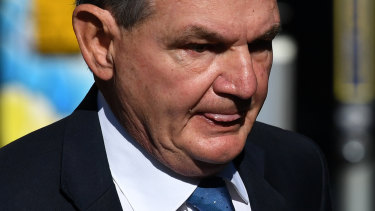 Former Ipswich mayor Paul Pisasale appeared in Brisbane Magistrates Court on Monday to face 16 charges.