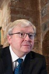 """Former prime minister Kevin Rudd said  Senator Di Natale's description of him as a """"sociopath"""" was inaccurate."""