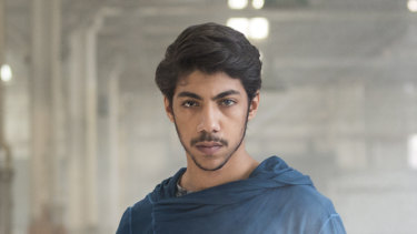 Koen West, played by Hunter Page-Lochard, the hero of Ryan Griffen's Cleverman series.