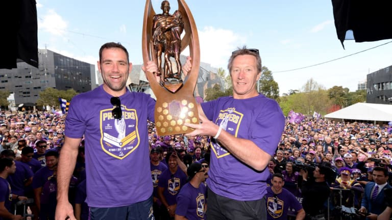 Are you going to buy that? Melbourne paid $20,000 for their premiership trophy.