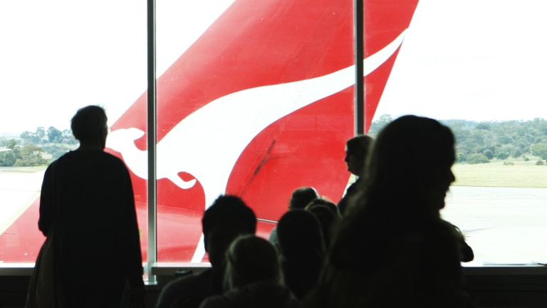 Qantas is trialling a new volunteer program that has workers seeing red.