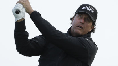 Mickelson's 26-year, top-50 record over