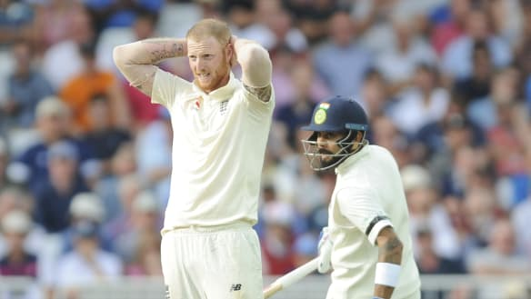 Muted English reception for tainted hero Stokes