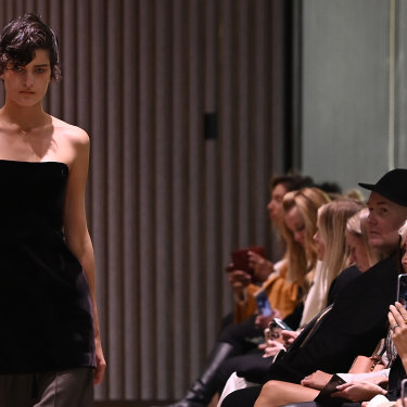 Beare Park made its debut at Australian Fashion Week.