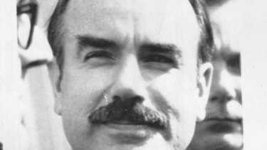 Gordon Liddy convicted for his part in the Watergate cover-up of the Nixon administration.