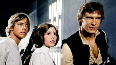 Starkweather became a consultant to the film industry, helping the digital effects team on the first Star Wars movie, in 1977, starring Mark Hamill, Carrie Fisher and Harrison Ford.