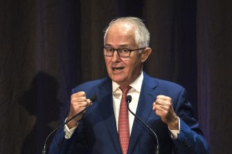 Former PM Malcolm Turnbull has thrown his support behind vaccine passports.