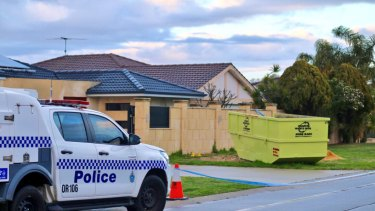 Police were called to the home about 10.30pm.