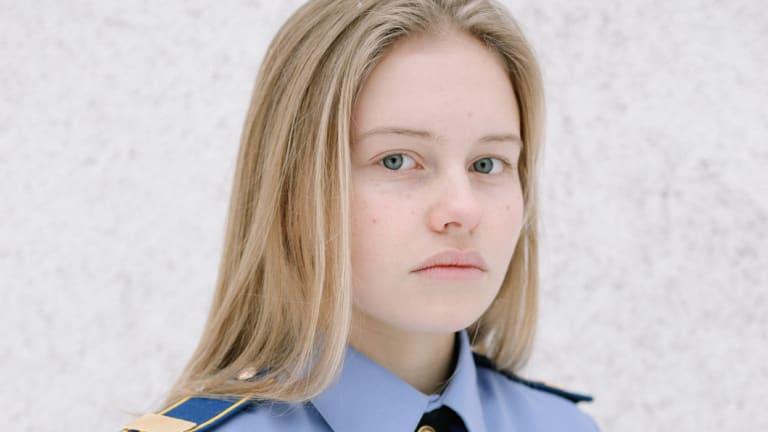 """Russia is our motherland,"" 11th-grader Nina Loguntsova said."