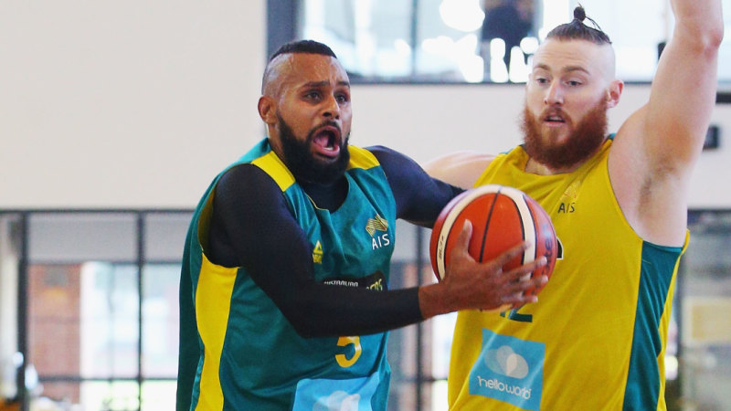 official photos f54b8 d0429 Patty Mills says two-year medal window is open for Boomers