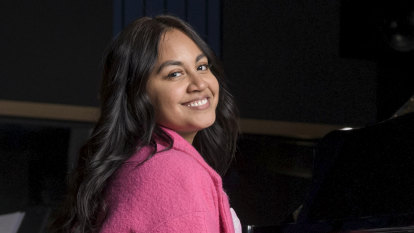 Jessica Mauboy returns to the studio for a special recording