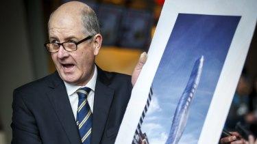 Planning Minister Richard Wynne opposes mandated minimum apartment sizes.