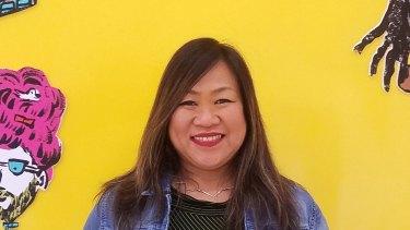 Leah Esguerra, a social worker at San Francisco Public Library.