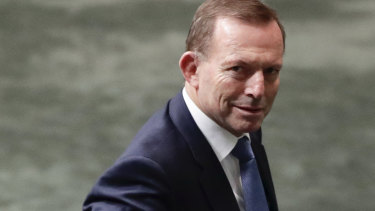 Advocate for Western civilisation: Tony Abbott.