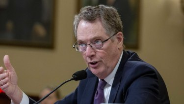 Robert Lighthizer could do worse than follow one of his boss's oldest pieces of advice.