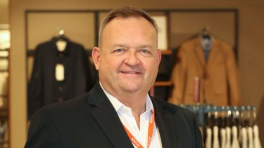 Man with a (full-priced) plan ... Myer's chief executive, John King.