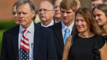 Fred and Cindy Warmbier said they blamed Kim for their son's death.