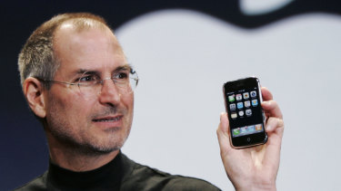 """Jobs made the phrase """"one more thing"""" famous during his keynote speeches announcing new Apple products."""