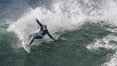 Two-time world surfing champion John John Florence.
