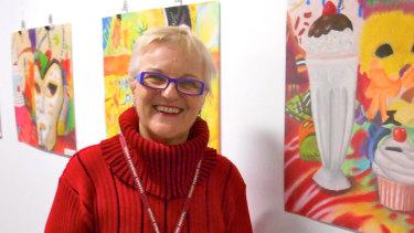 Teacher Margot Anwar