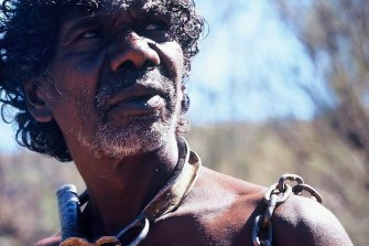 Gulpilil in Rolf De Heer's film The Tracker (2002).