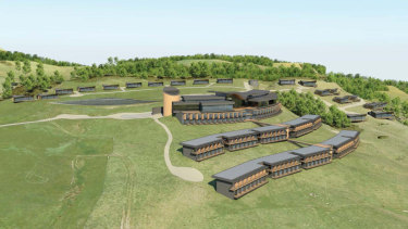 The proposed development, which was to include 180 new hotel rooms and 82 villas.