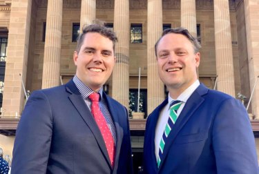 Councillor Ryan Murphy and lord mayor Adrian Schrinner said Labor councillors were Luddites for questioning the use of drones. Labor questioned why ratepayers should pay for drones.