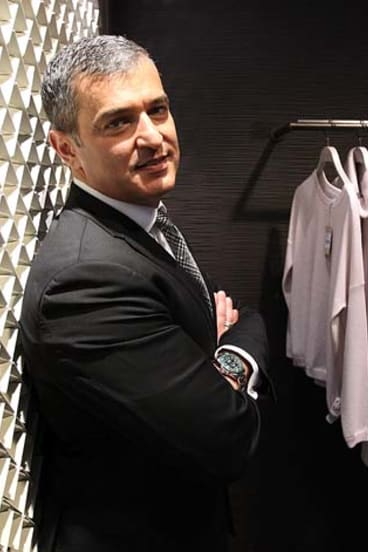 Former David Jones CEO Paul Zahra is possibly in the running for the top job at Myer.