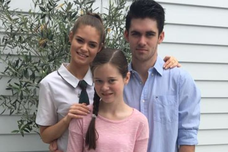Ms Ross said the costs of having Tom, 19, and Amelia, 17, were far less than when she was pregnant with Imogen, 11.