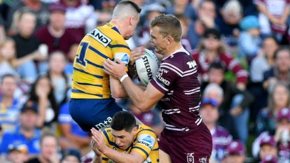 Tom Trbojevic on fire again in Sea Eagles romp over Eels