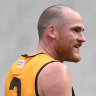 Jarryd Roughead playing in the VFL.