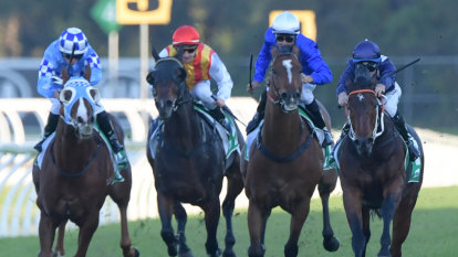 Desert explodes into Stradbroke contention after looking a bit dusty